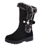 Women-039-s-Snow-Boots-Winter-Shoes-Warm-Fur-Lining-Mid-Calf-Flats-Buckle-Booties-US thumbnail 13