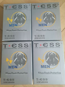 4 Slips von TESS; Silver-Fresh-Protection; 3-D First Layer System schwarz Gr XXL
