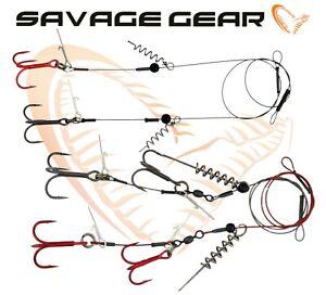 Savage-Gear-Cavatappi-Rilascio-Rig-Stingers-Predatore-Attrezzatura-Pesca-Morbido