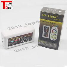 Milight 2.4G wireless 4 Zone wifi RF dimmer mi.light Controller for strip  RGBW