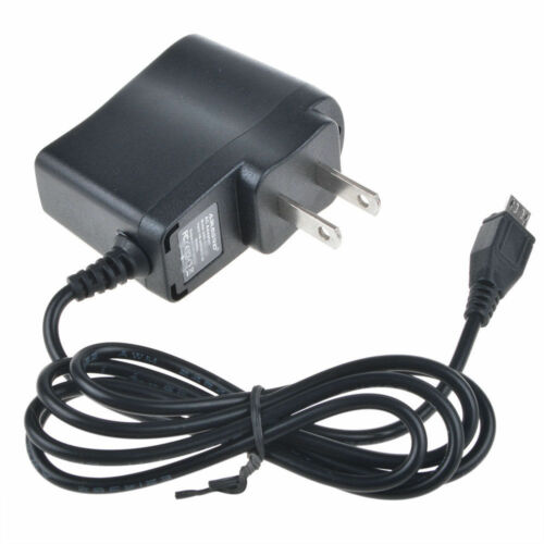 "1A AC//DC Wall Power Charger Adapter Cord For RCA Voyager RCT6773W22 7/"" Tablet PC"