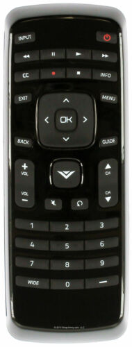 Original  Vizio  XRT010 TV Remote Control.