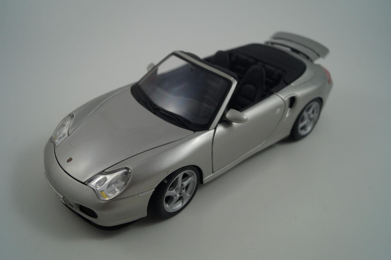 Maisto Modellauto 1 18 Porsche 911 911 911 turbo Cabriolet 1a3cb8
