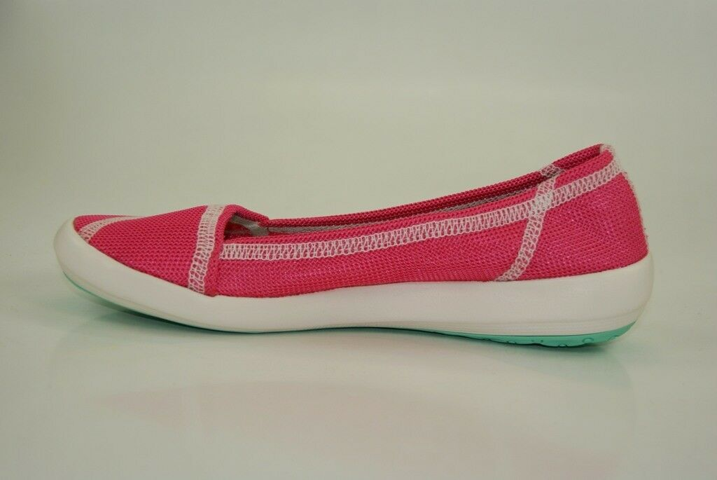 Adidas Ballerinas Boat Slip-On Sleek Slipper Ballerinas Adidas Damen Barfuß Schuhe Leicht D67013 3a4555