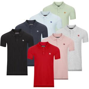 riverso Herren Poloshirt RIVJohn Basic 2er Pack Shirt Regular Polo Kragen Uni