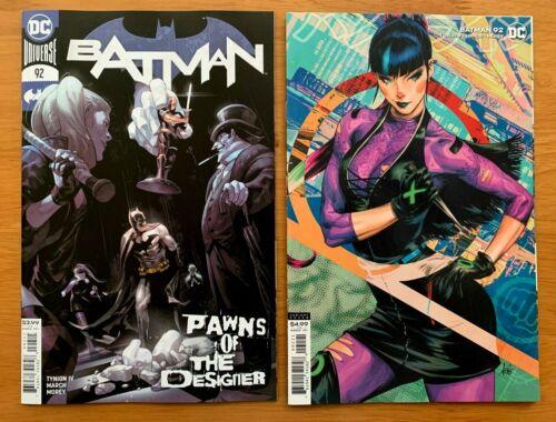 BATMAN 92 2020 Main Cover Artgerm Lau Variant Set NM