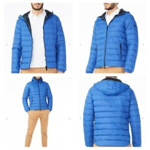 e5c0aaa22ab0 New NWT Armani Exchange AX Mens Hooded DOWN Jacket Coat - BLUE - XL ...