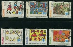 1979-Mozambique-Stamps-Complete-Set-SC-631-636-MINT-NH