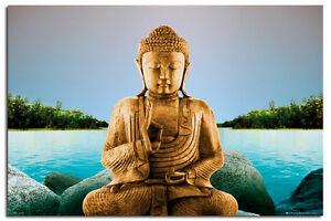 Zen-Buddha-Lake-Large-Wall-Poster-New-Maxi-Size-36-x-24-Inch