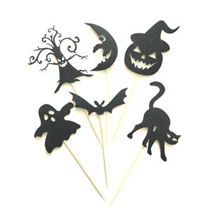 6pcs-Halloween-Cake-Toppers-Ghost-Pumpkin-Bat-Food-Picks-Halloween-Party-Decor-T