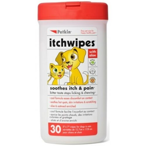 1 of 1 -  Hygiene Range Itch Stop Wipes (Set of 30)