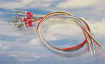 10x 30cm Reparatur Leitungen Kabel 0,35mm² 000979020E Kontakt VW Audi Seat BMW