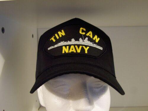 #1656 US NAVY USN TIN CAN NAVY  Ballcap Cap Hat