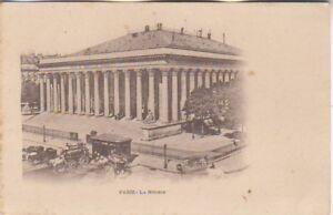 FRANCE-classic-Paris-LaBourse-unused-picture-postcard-original