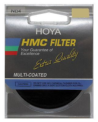 NEW Hoya Japan Multi-Coated HMC ND4 52mm Filter Neutral Density NDx4 Filter 52mm