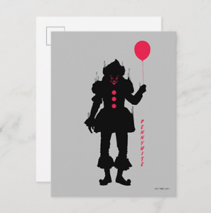 It Chapter 2 |  Pennywise Silhouette Graphic Movie Postcard