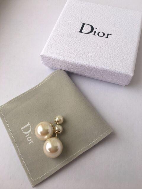 Christian Dior Mise en Tribal Tribale Earrings Authentic