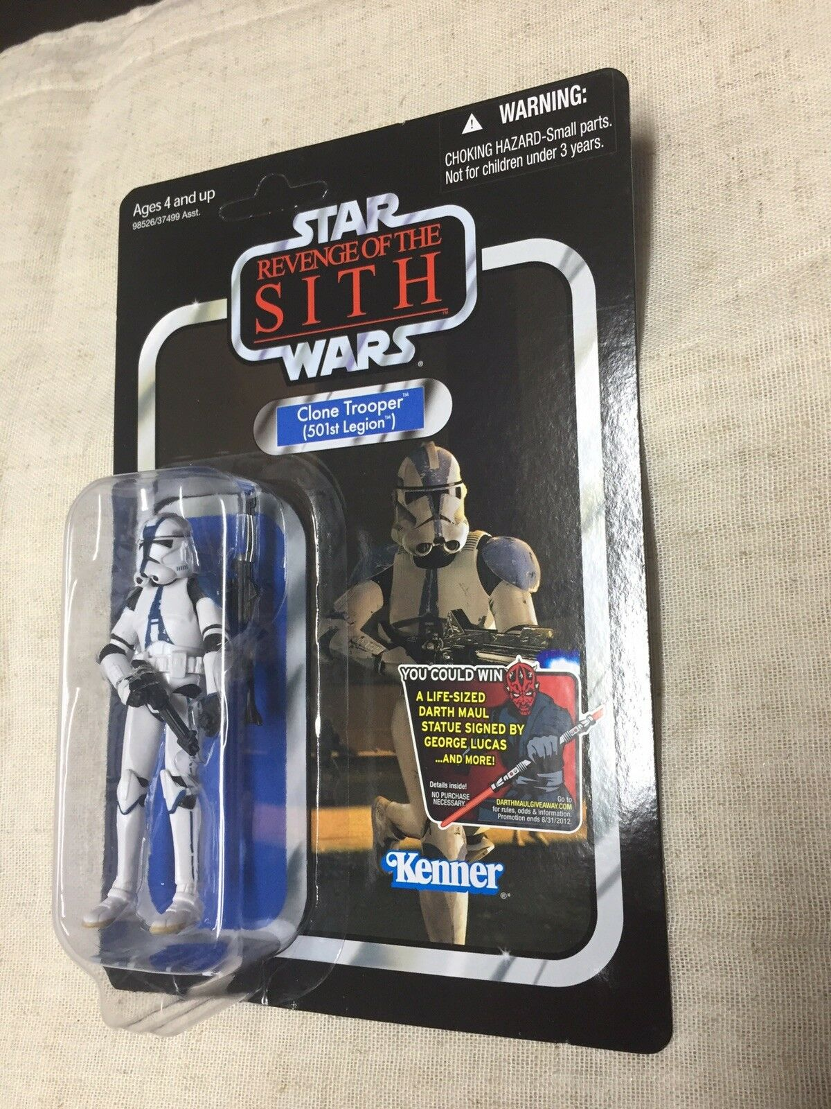 Star Wars Vintage Collection VC60 Clone Trooper 501st ROTS Sith unpunched TVC