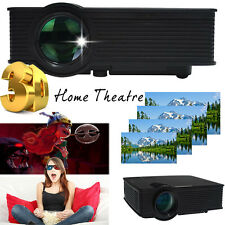 HD LED Home Theater Projector Video Projector Support Home Moive, Games, Meetin