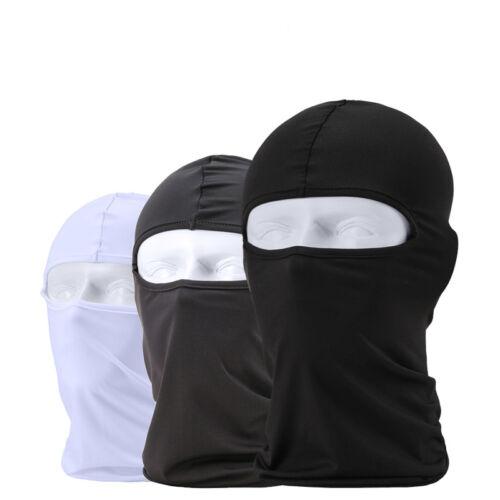 Full Face Mask Balaclava Motorcycle Cycling Ski Neck Ultra-thin Unisex Headwear