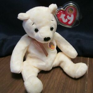 TY BBOM Beanie Baby of the Month Popcorn the Bear,,,MWMT