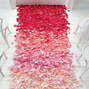 1000 pieces various colors silk flower rose petals wedding party image is loading 1000 pieces various colors silk flower rose petals mightylinksfo
