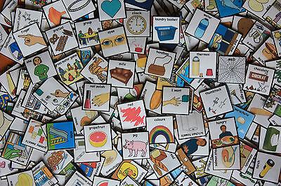Over 1200 Pecs Visual Reinforcement Cards/Non Verbal Communication/SEN/Autism