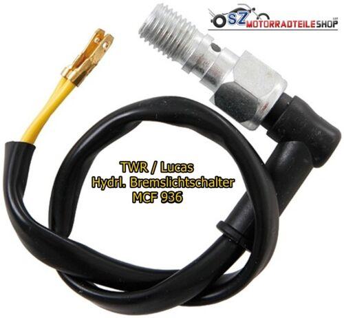 LUCAS Hydraulischer Bremslichtschalter MCF 936 TRW