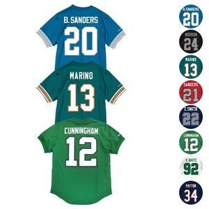 NFL Mitchell   Ness Mesh Name   Number Crew Neck Jersey Collection ... b66c89f48