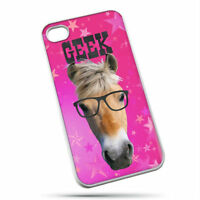 Horses With Attitude Geek Iphone 4 Cover