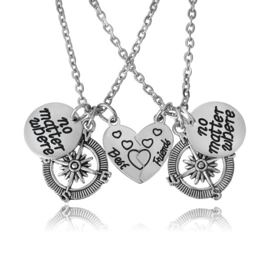 Stainless Steel Pendants Inspirational Gift Chain Necklace Dog Tag Family Friend