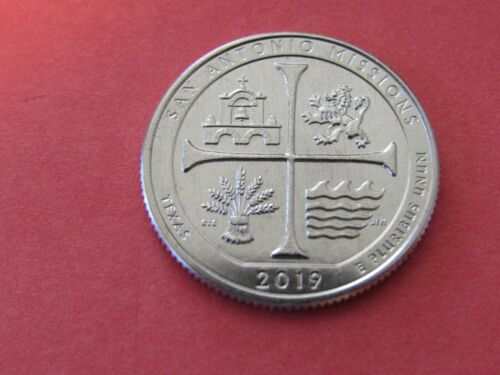 New UNC Condition Coin 2019 W SAN ANTONIO NP 25c Quarter WEST POINT