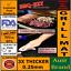 Money Back Guarantee Reusable NonStick 3 x Thicker AUSSIE BBQ GRILL MAT RIGID