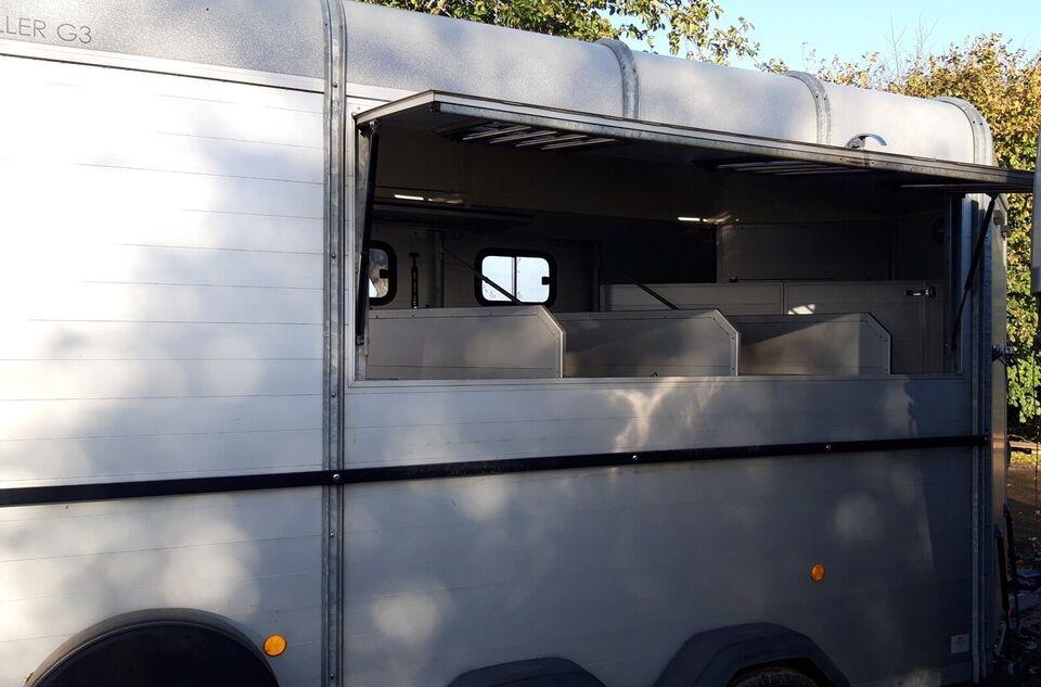 Hestetrailer Böckmann Traveller G3 år 2015 3-4 heste,
