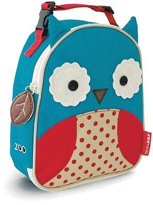 Skip Hop Zoo Lunchie Borsa Da Pranzo Isolata-owl Bambini Isolato Pranzo Borse Bn- Crease-Resistenza