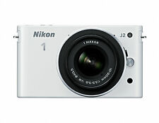 Nikon 1 J2 10.1 MP Digital Camera -WHITE (Kit w/ 1 NIKKOR 10-30 mm lens Lens)