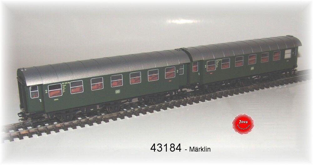 Märklin 43184 modificación de DB 2 CLASE NUEVO EN EMB. orig.