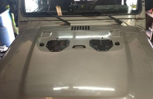 Jeep TJ//YJ Hood Vents//Louvers
