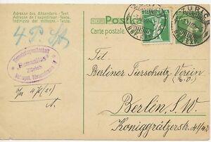 SCHWEIZ-034-ZURICH-BRF-EXP-034-grosser-K2-5-C-Tellknabe-GA-Postkarte-m-dto-5-C