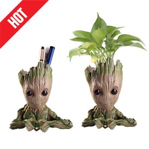 Baby Groot The Galaxy Vol 2 Guardians Flowerpot Tree Man Figure Pen Pot Toy Gift
