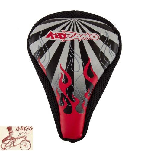 KIDZAMO0 FOAM FLAME BICYCLE SADDLE SEAT COVER