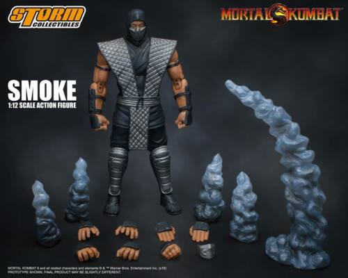 IN STOCK Storm Collectibles Mortal Kombat Smoke Figure NYCC 2018 Exclusive USA