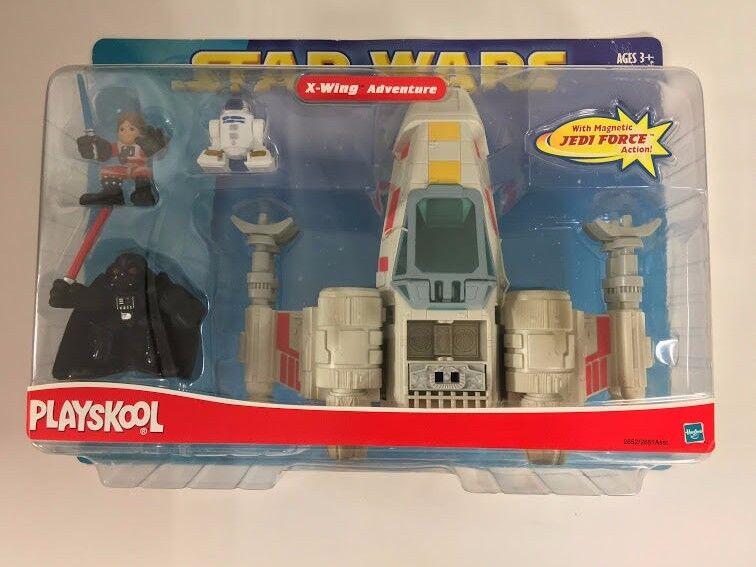 Star Wars X-WING ADVENTURE Adventure Set Playskool Hasbro Factory Sealed