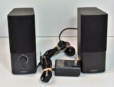 Bose Companion 9 Series III Multimedia Speaker System w power & AUX cable  17817609853  eBay
