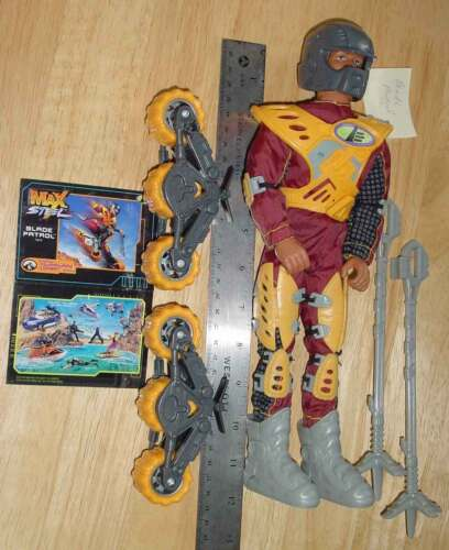 """Grand choix de Max Steel 12/"""" figurines accessoires et décoration trop"""