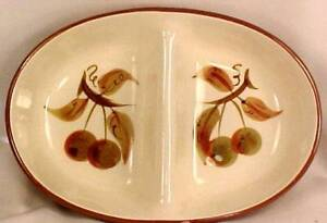 Vintage-Orchard-Song-Vegetable-2-Part-Serving-Dish-Bowl-Stangl-Dinnerware