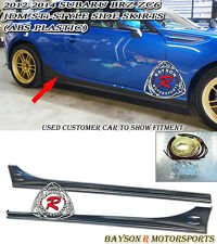 ST-Style Side Skirts (ABS) Fits 12-17 Subaru BRZ