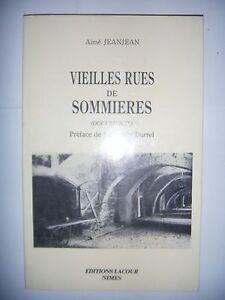 Languedoc-Gard-Vieilles-rues-de-Sommieres-documents-1987-BE