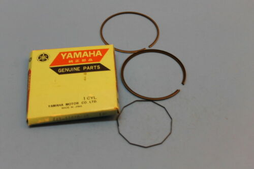 NOS YAMAHA OEM 4TH OVER 1.00 PISTON RING SET DT175 TY175 DT TY 175 443-11610-40