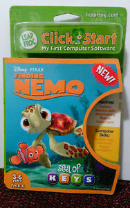 New-Leap-Frog-Click-Start-My-First-Computer-Disney-Finding-Nemo-Sea-of-Keys